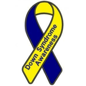 October is National Downs Syndrome Awareness Month